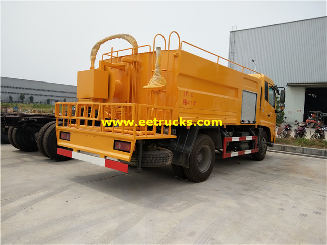 Dongfeng Sewer Suction Tanker Trucks