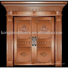 luxury copper door villa door exterior door double door KK-719