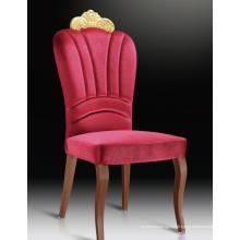 Chaises rouges de banquet d'hôtel de tissu banquet