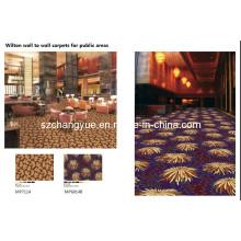 Wilton Broad Loom Wool Hotel Tapetes