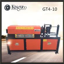 Bobina de acero automática que endereza la cortadora GT4-10