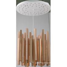 Rubber Wood+Metal Ceiling Pendant Lamp (MX80150-1-620)