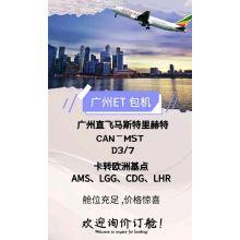 Promoção voos charter para a Europa