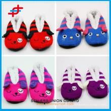 Детские домашние тапочки / Зимняя обувь для спальни / Плюшевая тапочка для животных