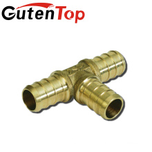 Gutentop 3/4 inch x 3/4 inch Brass Material PEX barb fittings