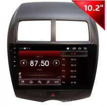 Navigation GPS Andriod pour Mitsubishi Asx (HD1021)