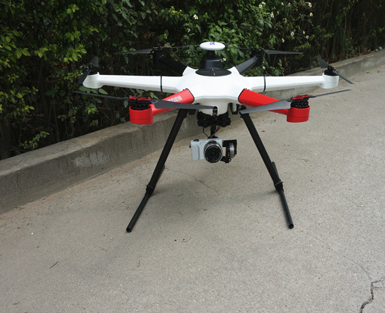 Drone With Mirroless Gimbal