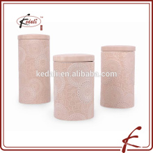 porcelain canister for kitchen