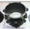 Pino cerâmico da haste do parafuso rosqueado cerâmico do carboneto de silicone RBSIC / SISIC / SSIC cerâmico