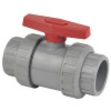 Шаровой кран CPVC True Union, двойной шаровой клапан