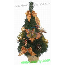 Árvore de Natal de metal de mesa de 2013