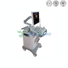 Medical Digital 2D Trolley Color Doppler Ultrasound Machine