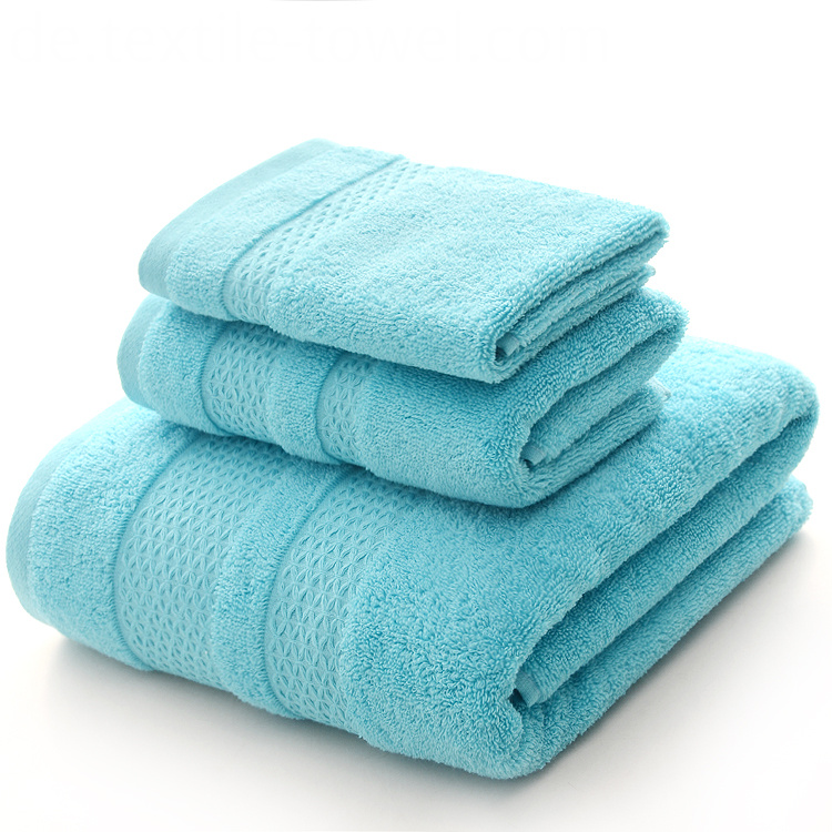 Teal Bath Towels Set