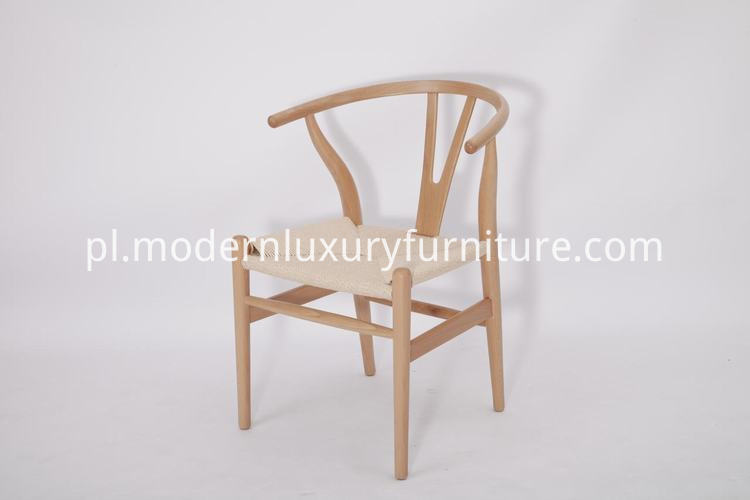 walnut wishbone chair replica