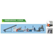 Tissé de film PP PE sac recyclage plastique Double-arbre de machine granulateur SJ-160/140