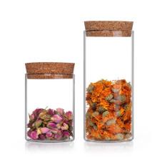 High Borosilicate Airtight Glass Storage Jar Set with Lid