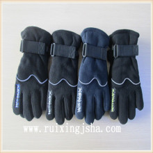 boys fleece reflex riding Gloves