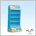 Hot sale newest portable supermarket promotion free standing display stand carton