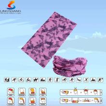 LSB-0040 Ningbo Lingshang al aire libre 100% del poliester del tubo inconsútil del cuello bandana