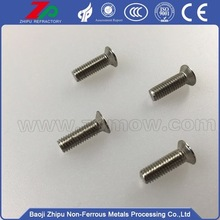 Heat-resistant molybdenum bolts/nuts/screw for sale