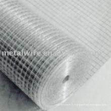Maille soudée en PVC revêtue