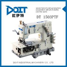 DT 1503PTF alta velocidade e qualidade preço barato hemming e quilting costura dupla cadeia de máquina de costura
