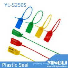 Scellés de sécurité en plastique inviolables