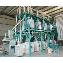 Fraiseuse à farine de blé 50 T / D, usine de fraisage de farine de blé, usine de farine de blé