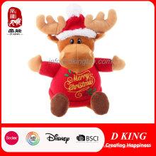 Brinquedo de pelúcia de presente de Natal de alta qualidade recheado