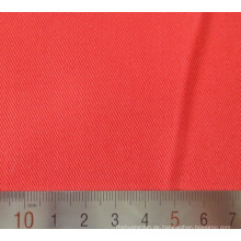Rot Polyester Baumwolle T/C Twill Webstoff