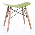 ресторан металлический барный стул с пластиковым сиденьем