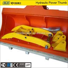 thumbs hydrauliques de pouce de seau pour la pelle de 17-22 tonnes