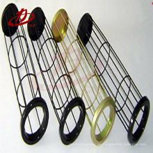 Jaulas de bolsas de filtro de acero al carbono con ventilador venturi