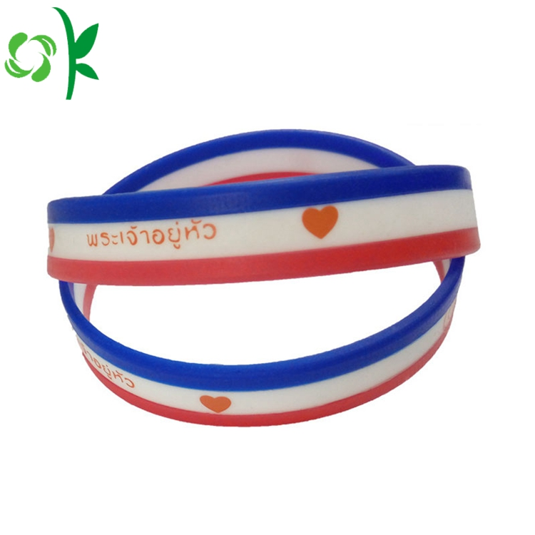 3 Layer Color Wrisbands