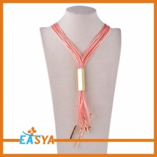 Exquisite Fashion Tassel Necklace As Holiday Gifts