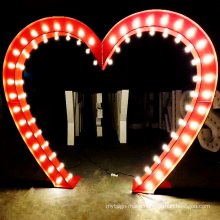 Customized marquee light letters led bulb sign channel letter  electronic signs wedding