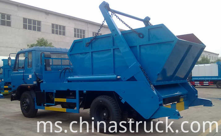 12Ton skip loader waste lorry