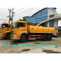 Hot Sale Euro IV 18000 liter water tank truck / dongfeng 6x4 potable water tank truck sale in Brazil