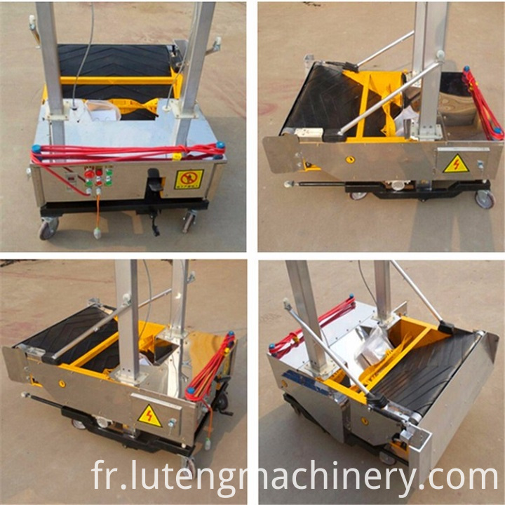 -Plaster Rendering Machine
