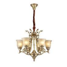 Brass Pendant Chandelier Lamp