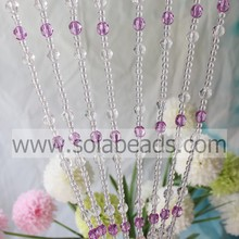 Acrylic Crystal Faceted Beads Curtain Wall Hanging