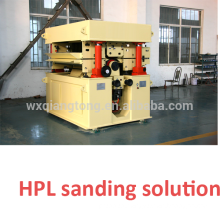 Sanding machine for HPL/ thickness sanding HPL