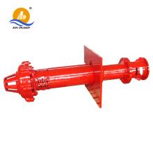 Zentrifugale Feststoff-Schlamm-Asche-Sump Vertikale Schlamm-Pumpe