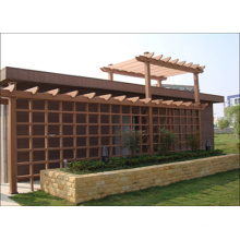 2014 High Quality Cheap Outdoor WPC Pavilion Pergola