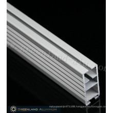 Heavy Style Square Shape Aluminum Bottom Track