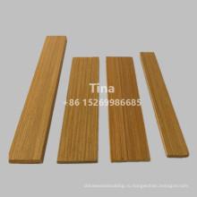 Плоский дизайн литья из тикового дерева