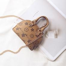 coréen pochette sac mode mini femmes fourre-tout sacs brun en cuir sacs pour adolescents