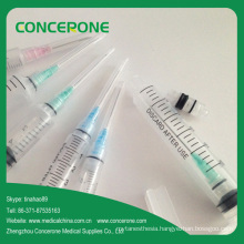 Medical Disposable Syringe with Retractable Needle Factory