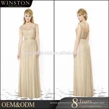Top qualité avec le prix de gros Robe de mariée robe maxi
