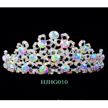 princess tiara crown and wand tiara wedding bridal comb tiara rhinestone tiaras with pearl crown